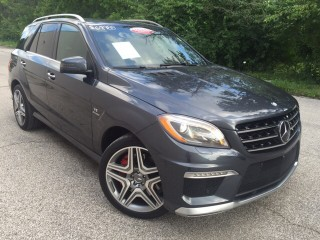 Perfectly used Mercedes Benz ML 63 AMG 2014