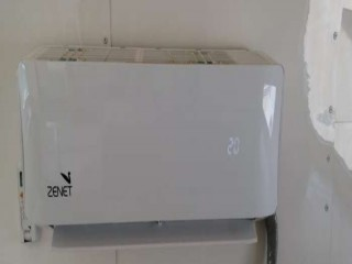 A/C Air Condition Split ZENET 1.0 Tone used 3 month (New) Under service