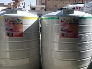 خزانات مياه الروتيشن توصيل وتركيب ورفع فوق السطح داخل عمان والزرقاء والسلط ومادبا 0788123928