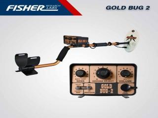 جهاز كشف الذهب الخام والمعادن والعملات فيشر جولد بق 2 FISHER GOLD BUG 2