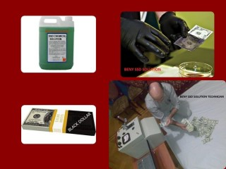 BLACK MONEY CLEANING with SSD SOLUTION CHEMICAL +919717615570