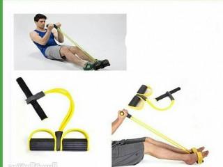 حبل المقاومة المطاطي للتمارين لشد وتقوية عضلات اليدين والأكتاف